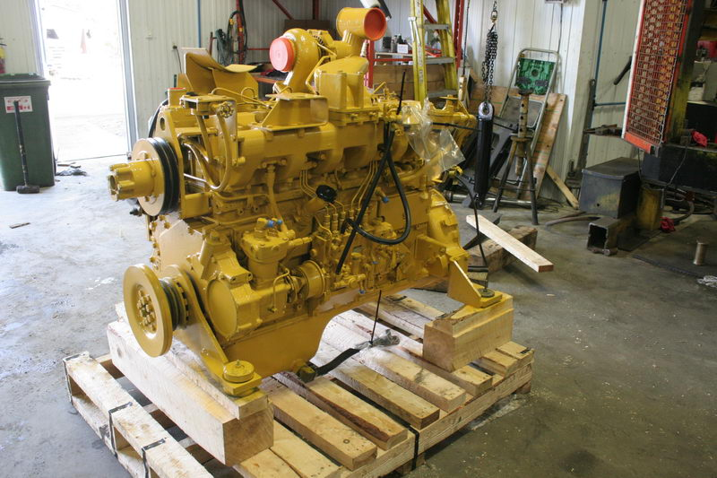 Heavy equipment engines - Heavy equipment parts