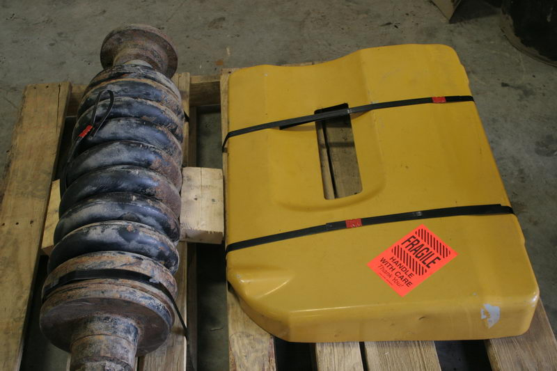 Track Adjusters and Coilsprings - Heavy equipment parts