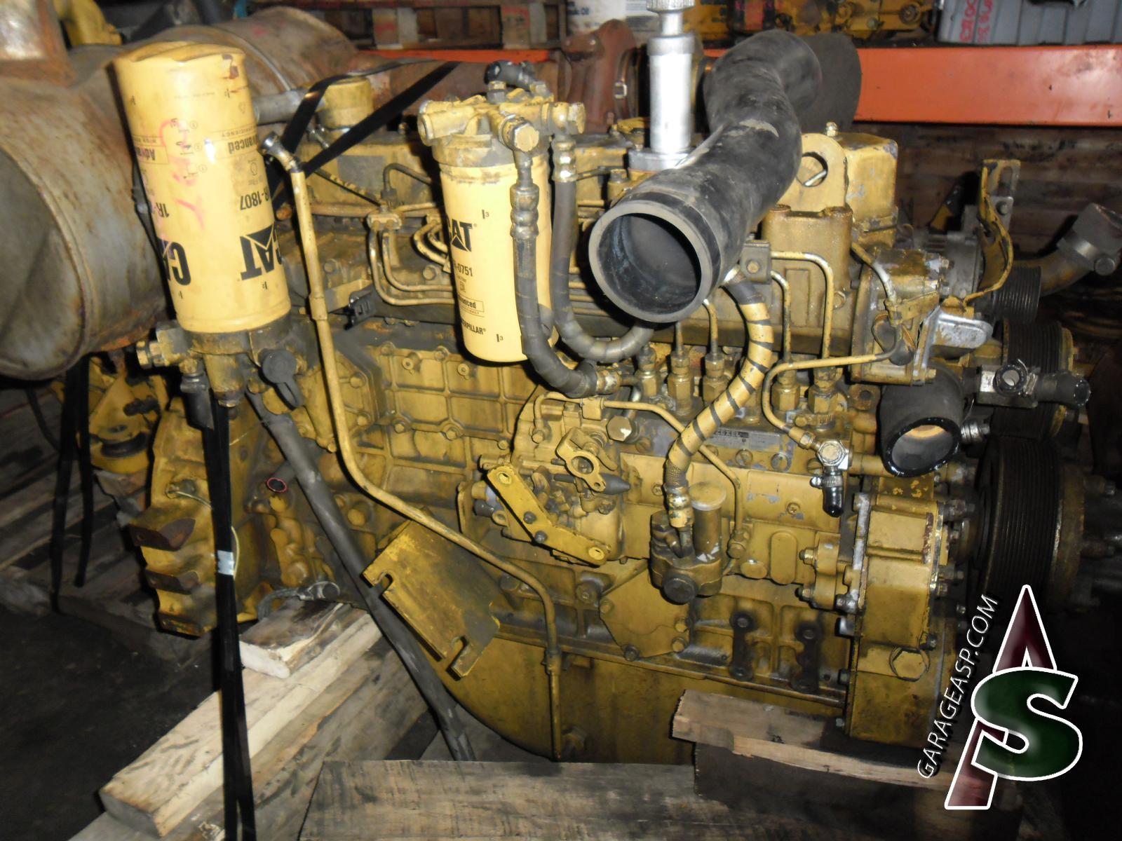 Heavy Equipment Engines - Heavy equipment parts