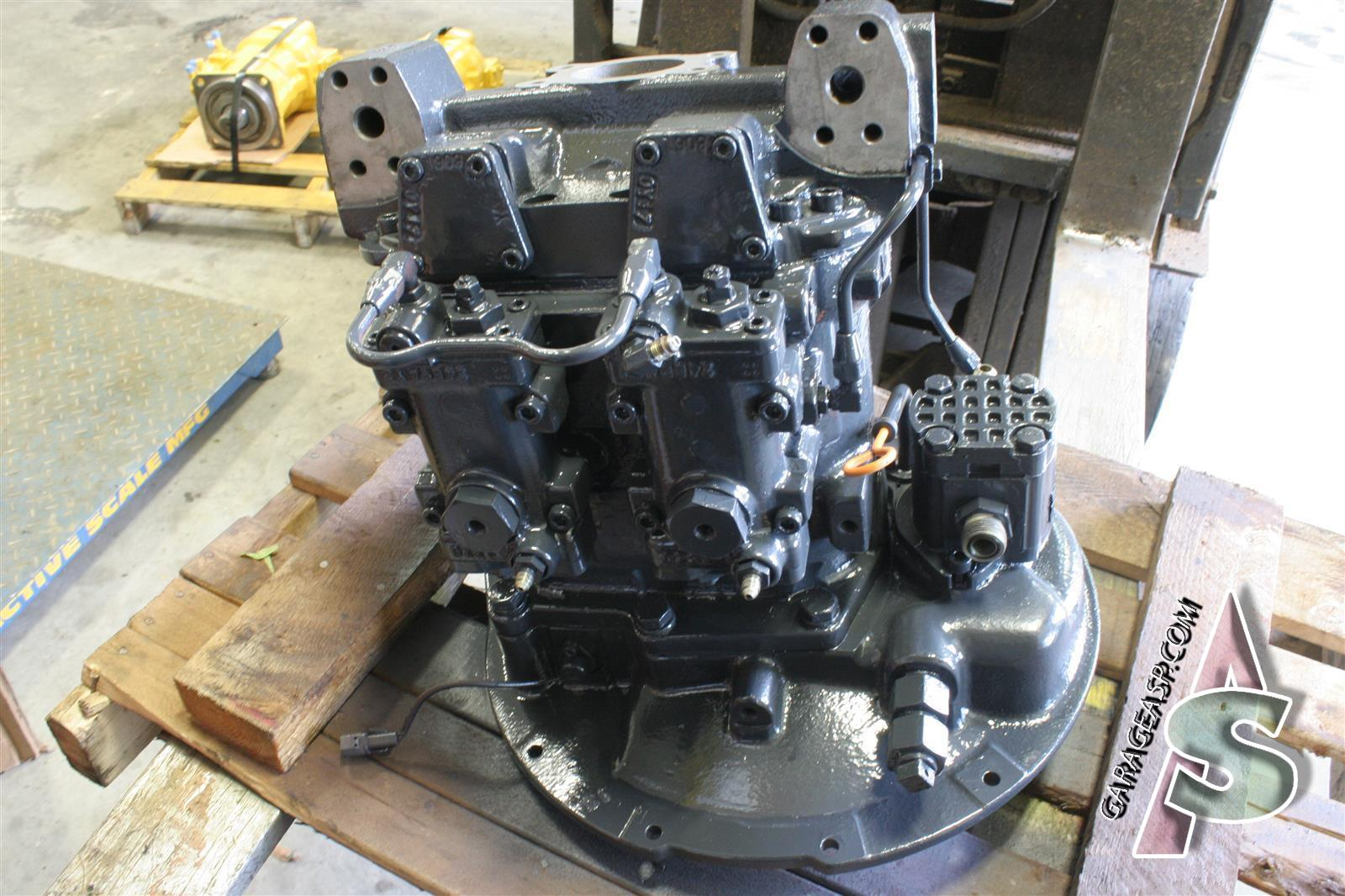John Deere Hydraulic Pump : Deere main hydraulic pumps heavy equipment parts