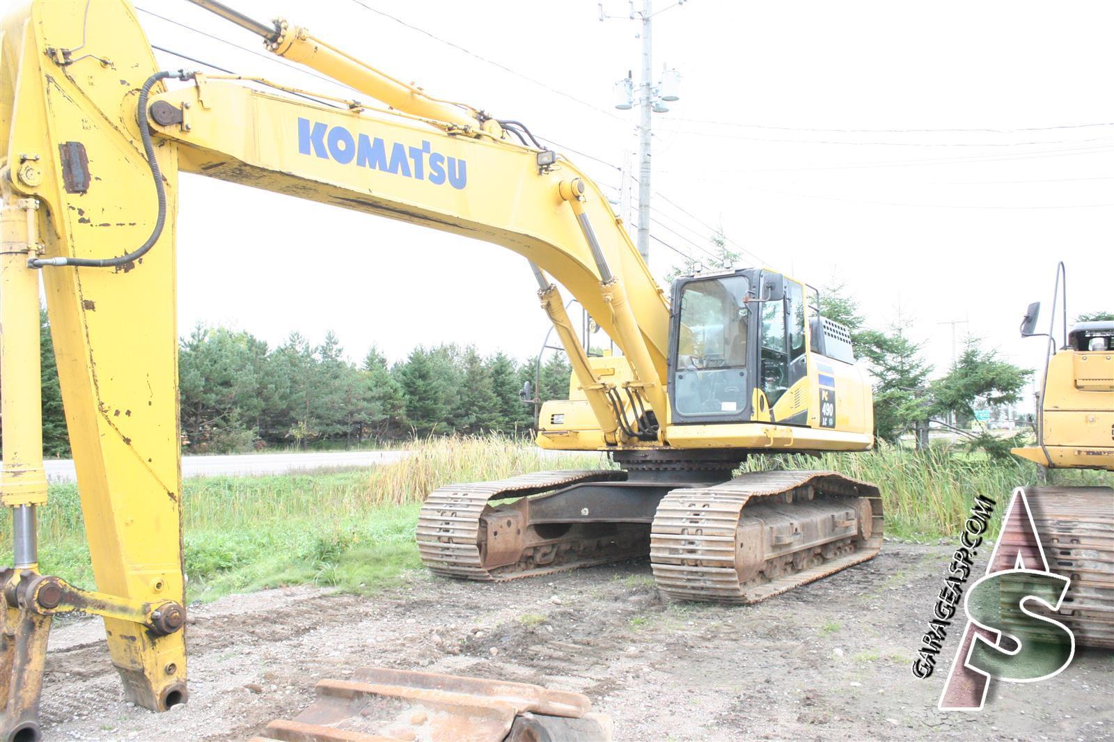 Komatsu Hydraulic Cylinders - Heavy equipment parts