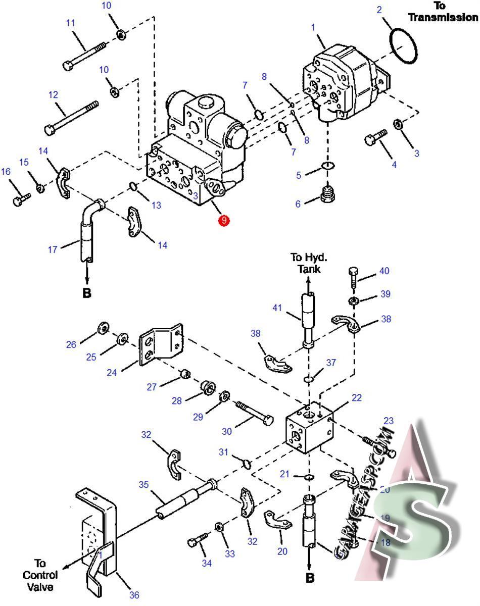 Komatsu Control Valves Heavy Equipment Parts Wa250 Wiring Diagram 626 3pt Valve Steering Cushion 418 64 25400