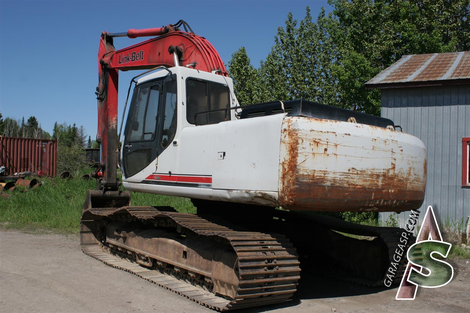 302, Link-Belt 2800 Q2 Carrier roller, KRA1302 ...