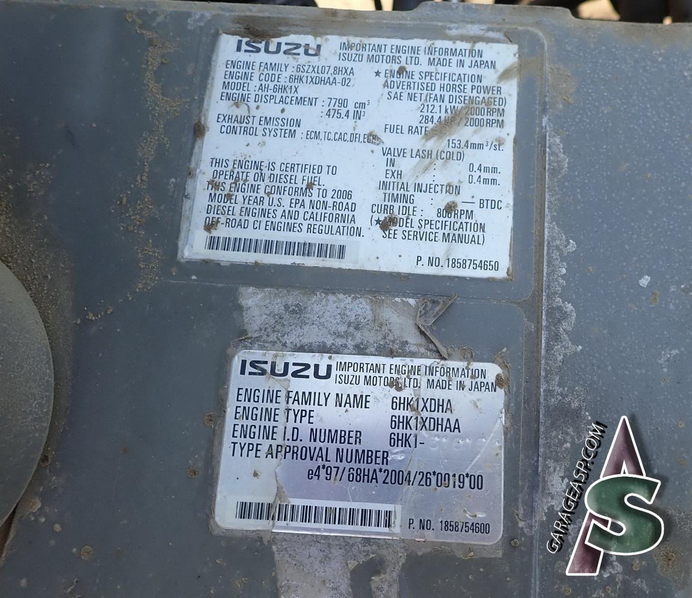 2002 Isuzu Trooper 35l Engine Cylinder Head Gasket Set Hgs353 26 4he1 Diagram 266 Link Belt Ls 3400c Ii 6bg1t502707 Compression Basse Kbh0447 6bg1t
